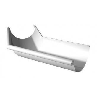 Кут ринви зовнішній Ruukki 135 градусів 125 мм білий