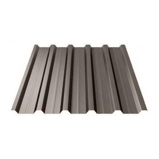 Профнастил Ruukki Т35 Polyester Matt 31 мм темно-коричневий