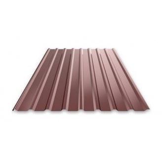 Профнастил Ruukki Т15 Pural Matt фасадний 13,5 мм шоколадний
