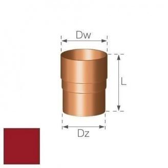 Кольцевой ниппель Gamrat 90 мм вишневый