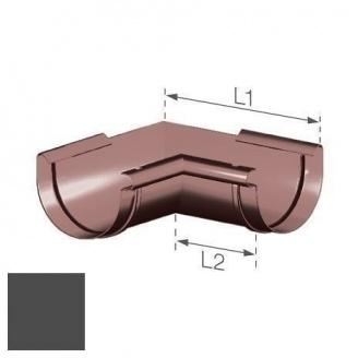 Внутренний угол Gamrat 100 мм графитовый