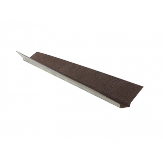 Декоративная планка ендовы QueenTile 2 м brown