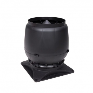 Вентиляционный выход VILPE S-200 200 мм черный