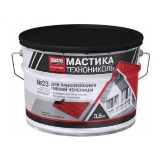 Мастика для гибкой черепицы ТехноНИКОЛЬ №23 Фиксер УКР 12 кг