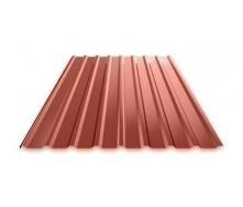 Профнастил Ruukki Т15 Polyester Matt фасадный 13,5 мм красный