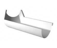 Угол желоба внутренний Ruukki 135 градусов 125 мм белый