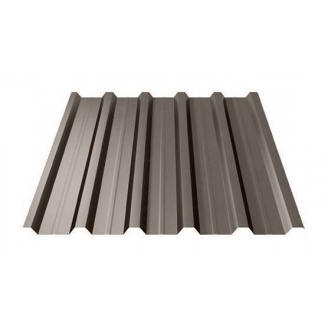 Профнастил Ruukki Т35 Polyester 31 мм темно-коричневый
