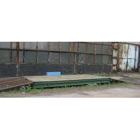 Реконструкция 6 метровых весов автомобильных РП-15Ш13