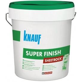 Готовая к применению шпаклевка Knauf Sheetrock SuperFinish 28 кг
