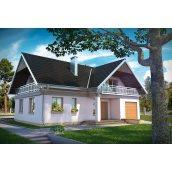 Будівництво каркасного будинку проект Водяній 166,6 м2