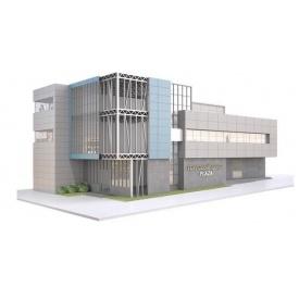 Каркасное строительство коммерческого здания