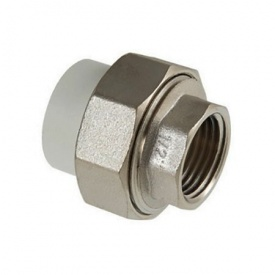 Муфта прямая разъемная резьба внутренняя 20х3/4 мм