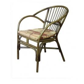 Стілець-крісло ЧФЛИ Флорида 570х610х830 мм з ротанга