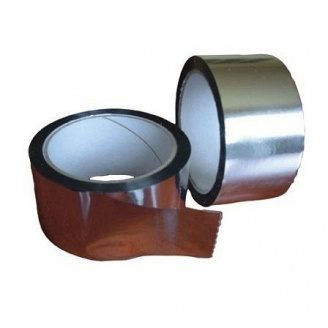 Стрічка для склеювання підпокрівельних плівок Masterplast Isoflex Tape пароізоляційна 50х50000 мм