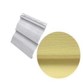 Сайдинг вініловий Royal Europa Residential yellow з подвійним зламом