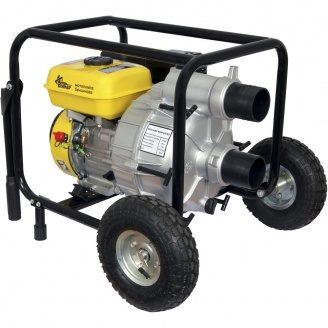 Мотопомпа для брудної води бензинова Кентавр КБМ80ГКР