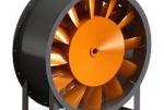 Промислові осьові вентилятори