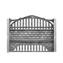 Железобетонный забор, еврозабор