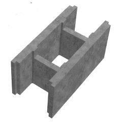 Бетонные блоки несъемной опалубки