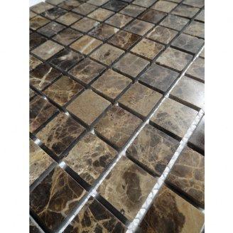 Мраморная мозаика VIVACER SPT116 23x23 мм