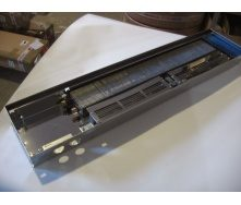 Внутрипольный конвектор с вентилятором POLVAX KV 230х1000х78 мм