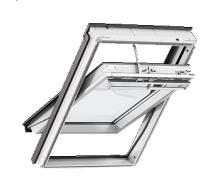 Мансардное окно VELUX Премиум GGU 0070 ручка сверху 78х118 см