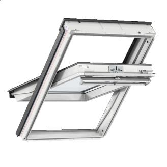 Мансардное окно VELUX Стандарт GLU 0051 ручка сверху 78x118 см