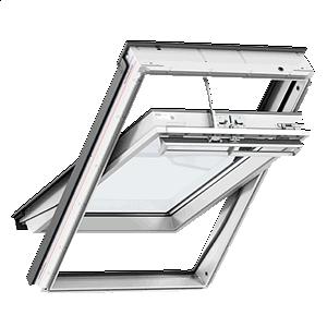 Мансардное окно VELUX Премиум GGU 0066 ручка сверху 78х118 см