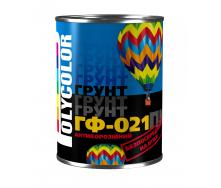 Грунт POLYCOLOR ГФ-021 серый 0,9 кг