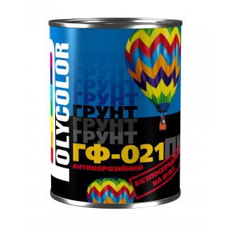 Грунтовка POLYCOLOR ГФ-021 0,9 кг серый
