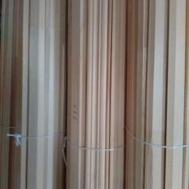 Плінтус дерев'яний зрощений Ялина 50х20 мм 2,5 м