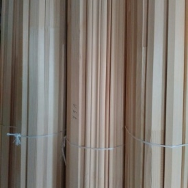 Плинтус деревянный сращенный Ель 50х20 мм 2,5 м