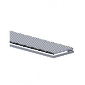 Комплект S рамка с алюминиевой решеткой для конвекторов Carrera 4S Black 120 180.2750.