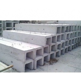 Лоток бетонный Л13-8/2 половинка 3 метра