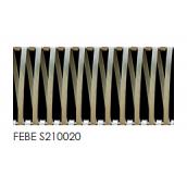 Сетка архитектурная Febe S210020 32,8% 7х1 мм