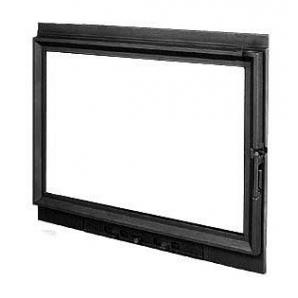 Дверка для каміна KAWMET W8 з прямим склом 790х640 мм