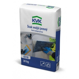 Штукатурка для зовнішніх робіт KVK 0,6 мм