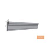 Молдинг фасадный Тимис 2000х120х450 мм из армированого пенопласта арт 00261