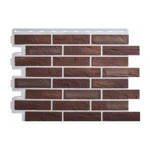 Фасадна панель Альта-Профіль Цегла Ризька 01 795х591х20 мм