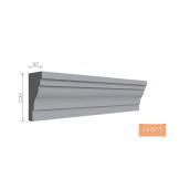 Карниз фасадный Тимис 2000х220х90 мм из армированного пенопласта арт 00173