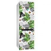 Интерьерная наклейка на холодильник Uzuri Тропики  600х2000 мм