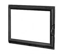 Дверца для камина KAWMET W11 с прямым стеклом 680х530 мм
