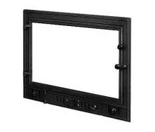 Дверца для камина KAWMET W4 с прямым стеклом 700х540 мм