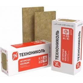 Утеплитель ТехноНИКОЛЬ ТЕХНОФАС ЭФФЕКТ 100 мм 135 кг/м3 для дома под штукатурку