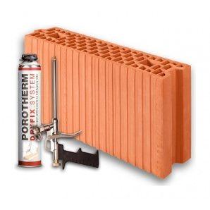 Керамічний блок Porotherm 11,5 Dryfix 115x498x249 мм