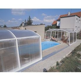 Раздвижной павильон для бассейна Albion Casablanka Dalass A 6-3 646х406/378х75 см