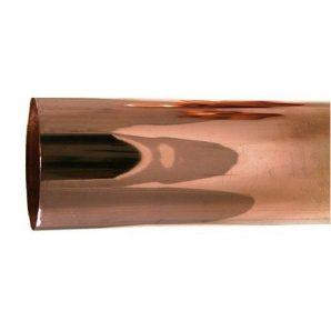 Труба водостічна GRÖMO мідна 100 мм 1 м