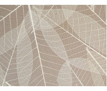 Натуральна декоративна панель Organoid Skelettblattla 4005 акустичний фліс 3050х1230 мм