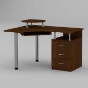 Компьютерный стол Компанит СУ-2 1200х1000х736 мм орех