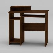 Комп'ютерний стіл Компанит СКМ-1 820х600х736 мм горіх